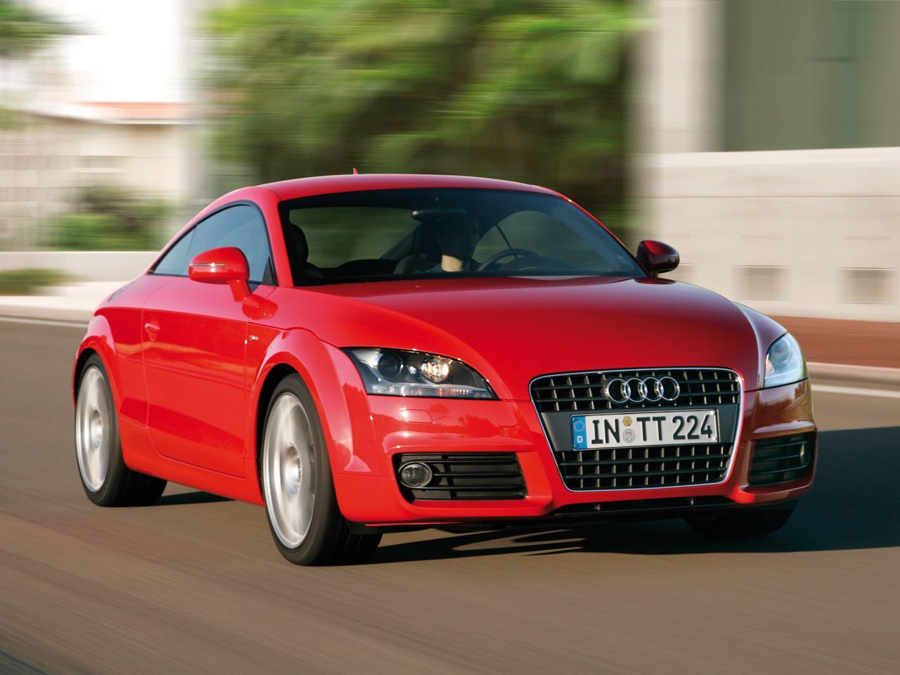 Audi TT Coup  s-line/Fahraufnahme