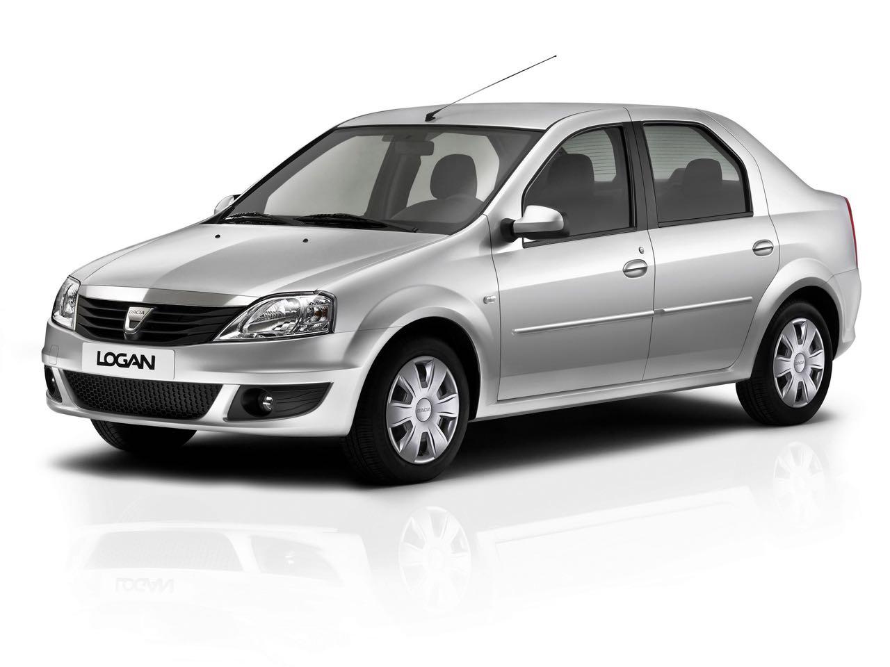Dacia Logan 2009 tres cuartos