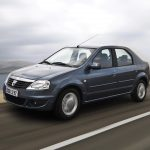 Dacia Logan 2009 movimiento