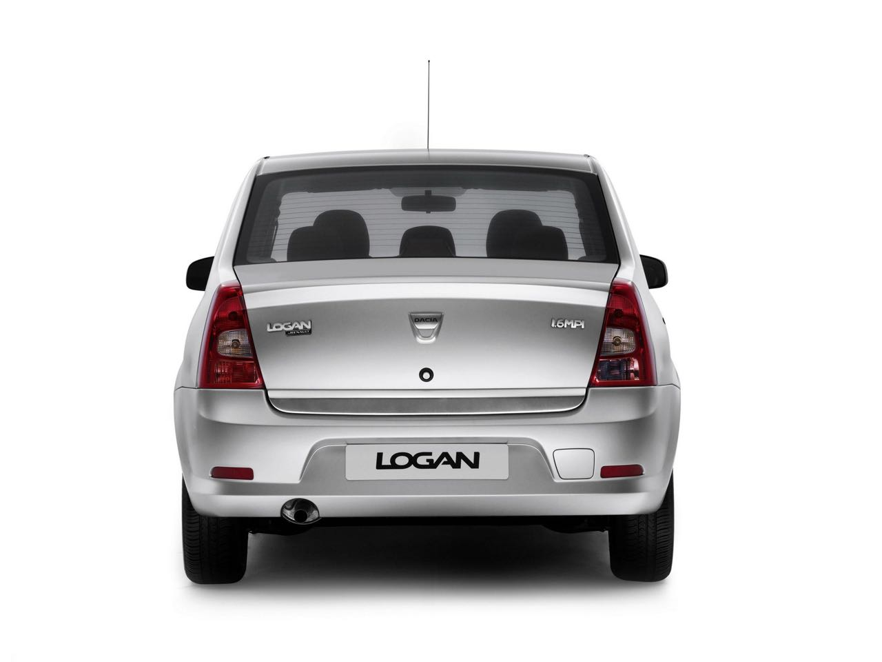 Dacia Logan 2009 trasera