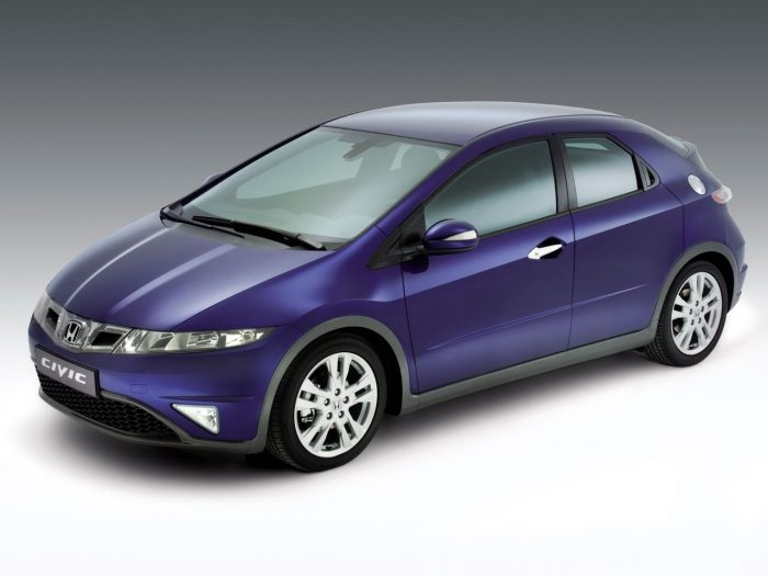 Honda Civic 2009 frontal