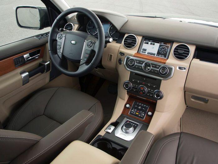 Land Rover Discovery 4 2009 salpicadero