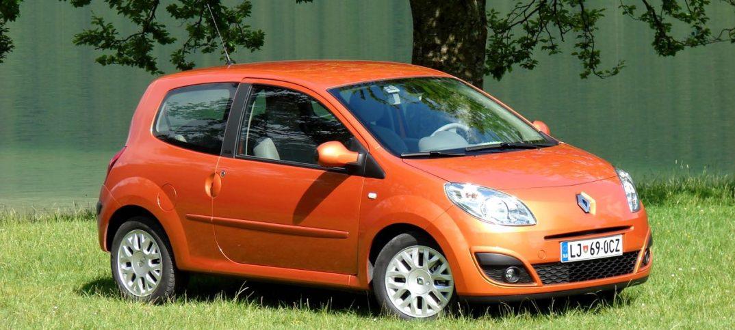 Renault Twingo 2007 naranja