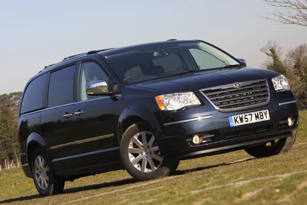 Chrysler Grand Voyager estático
