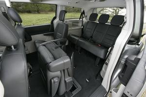 Chrysler Grand Voyager filas asientos
