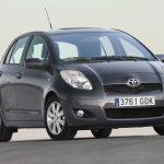 Toyota Yaris vista estático