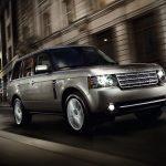 Range Rover 2009 frontal