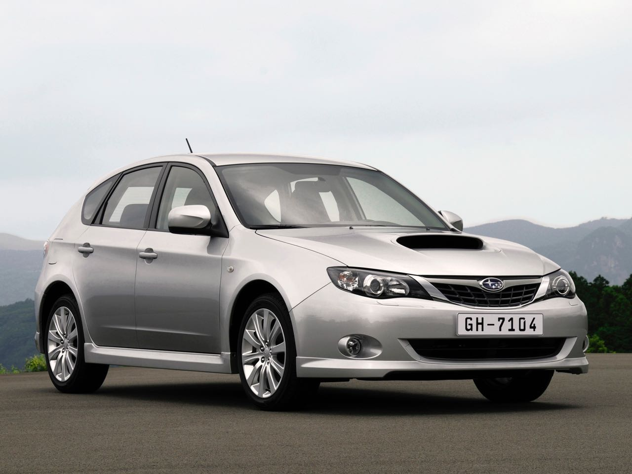 Subaru Impreza 2008 – 4