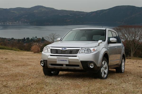 Subaru Forester estático