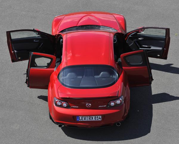 Mazda RX-8 puertas