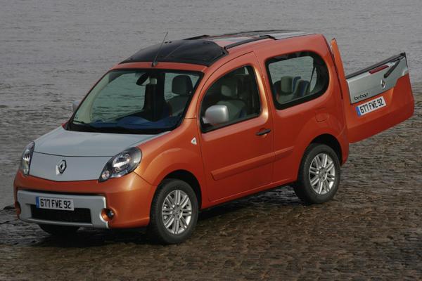 Renault Kangoo be bop estático