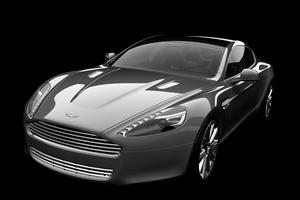 Aston Martin Rapide estático