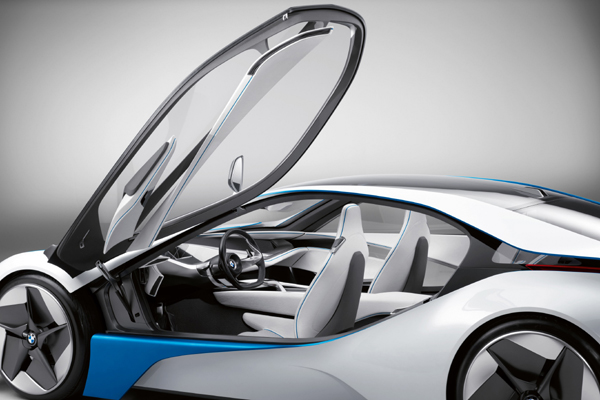 BMW Vision EfficientDynamics estático