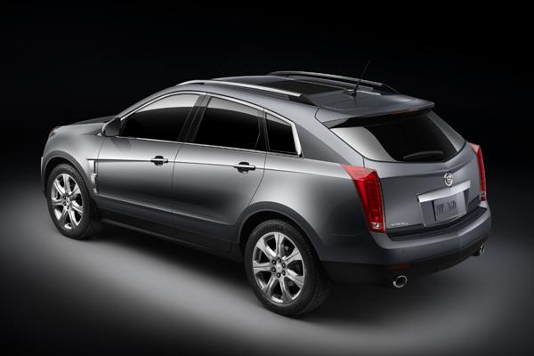 Cadillac SRX trasera