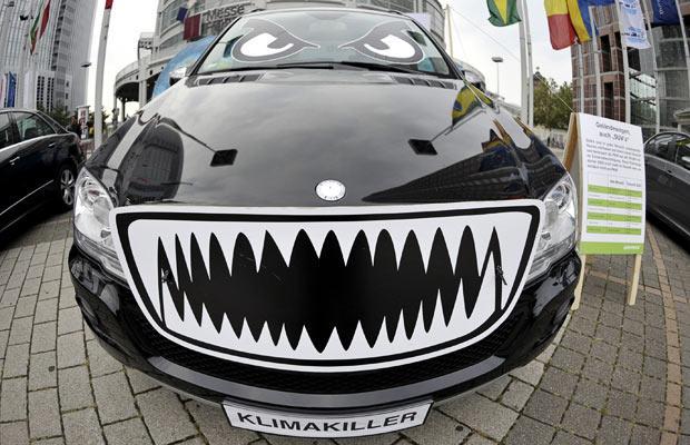 El coche de Greenpeace