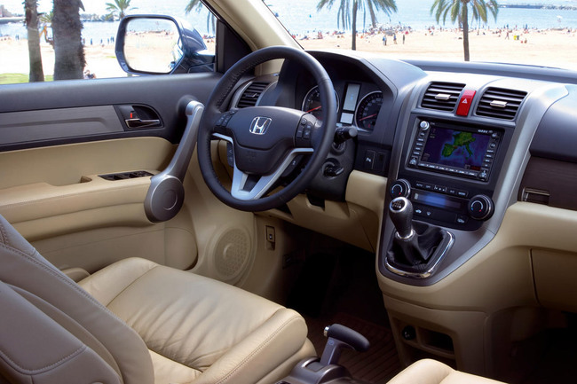 Honda CR-V 2007 vista interior