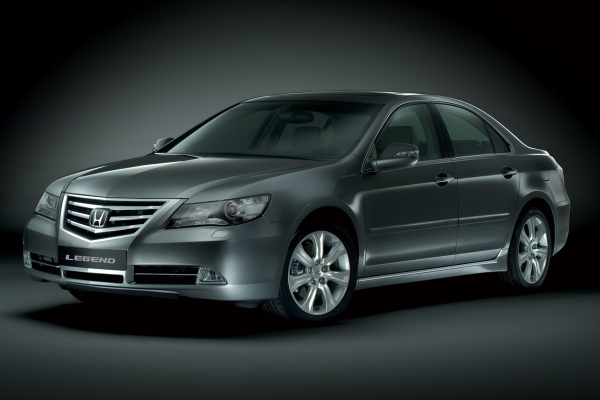 Honda Legend 2007 vista frontal
