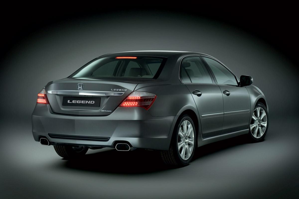 Honda Legend 2007: precios, motores, equipamientos