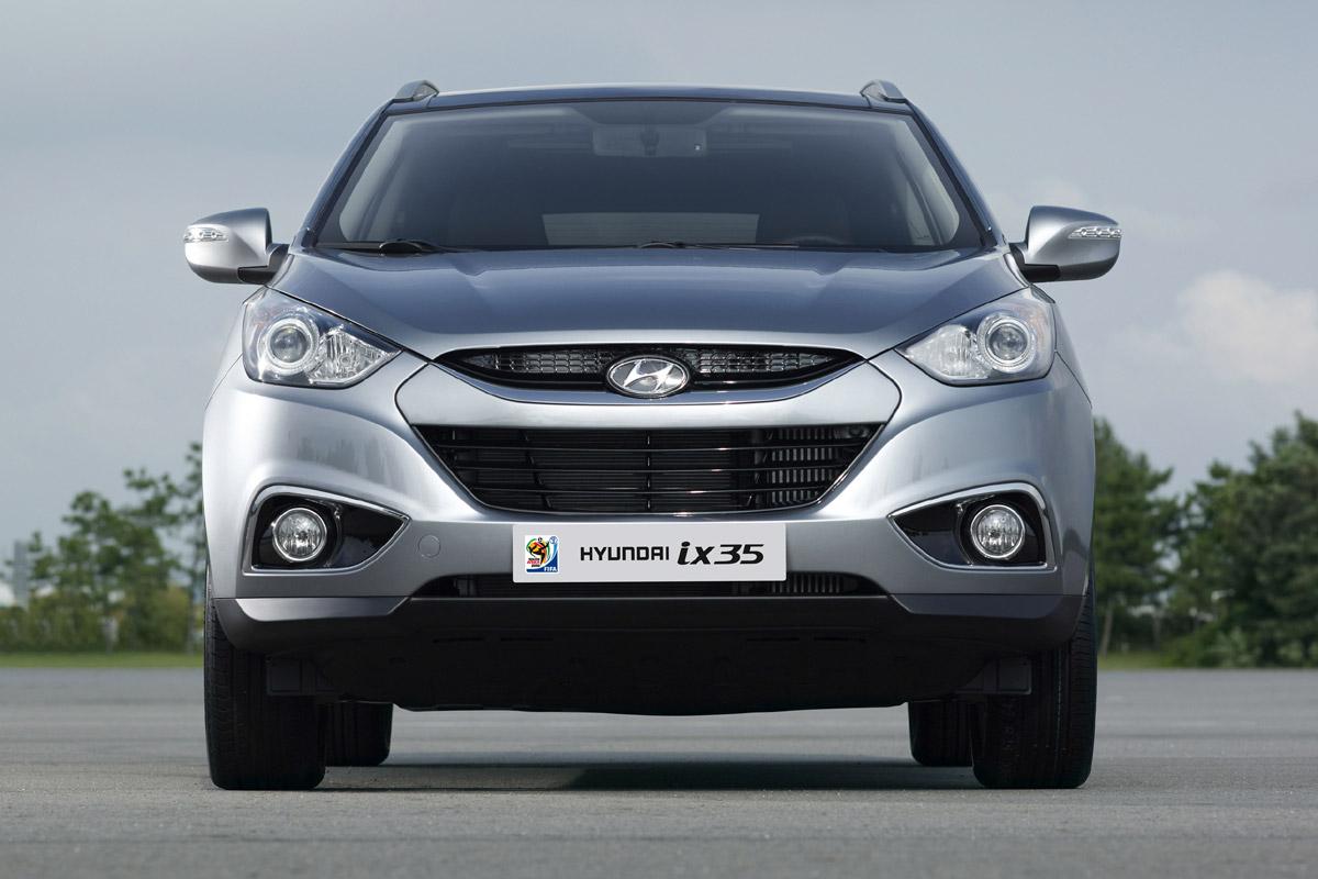 Hyundai ix35 gris frontal