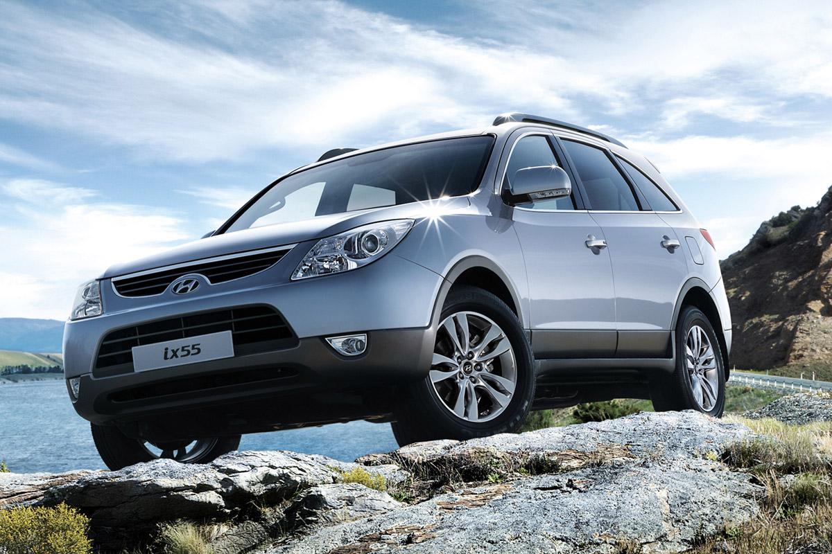 Hyundai ix55 estático