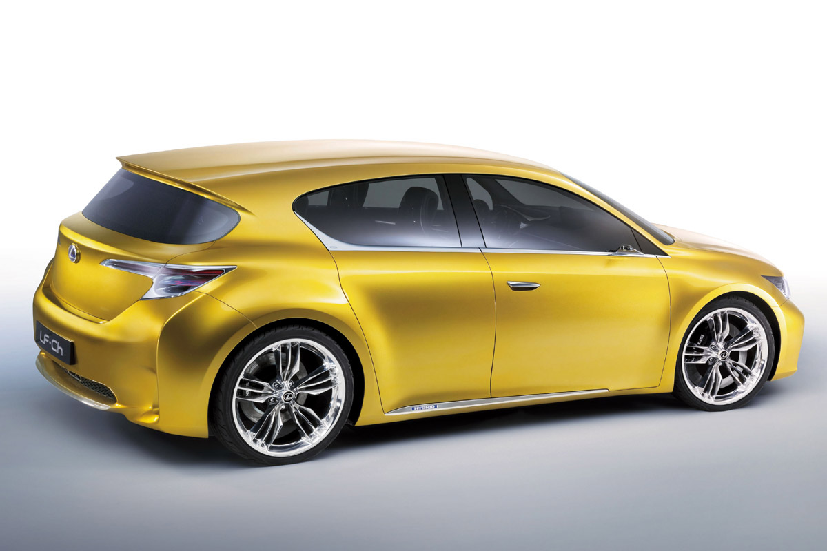 Lexus LF-Ch lateral