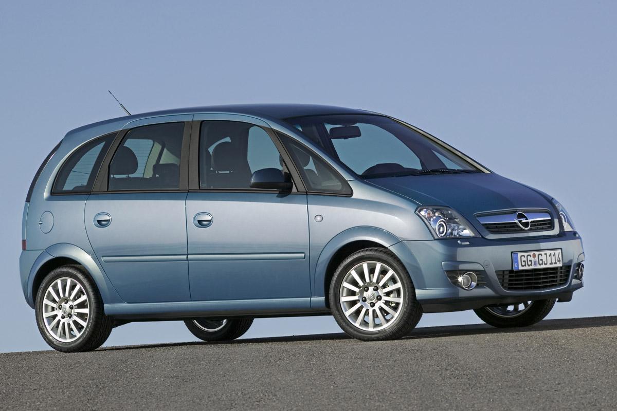 Opel Meriva 2006 estático