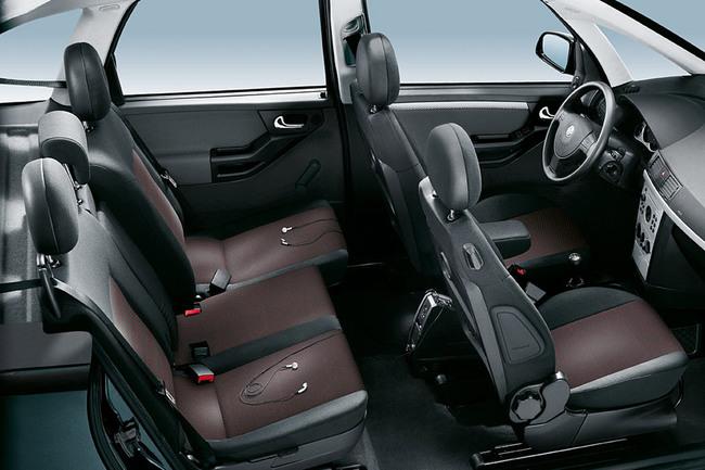 Opel Meriva 2006 asientos