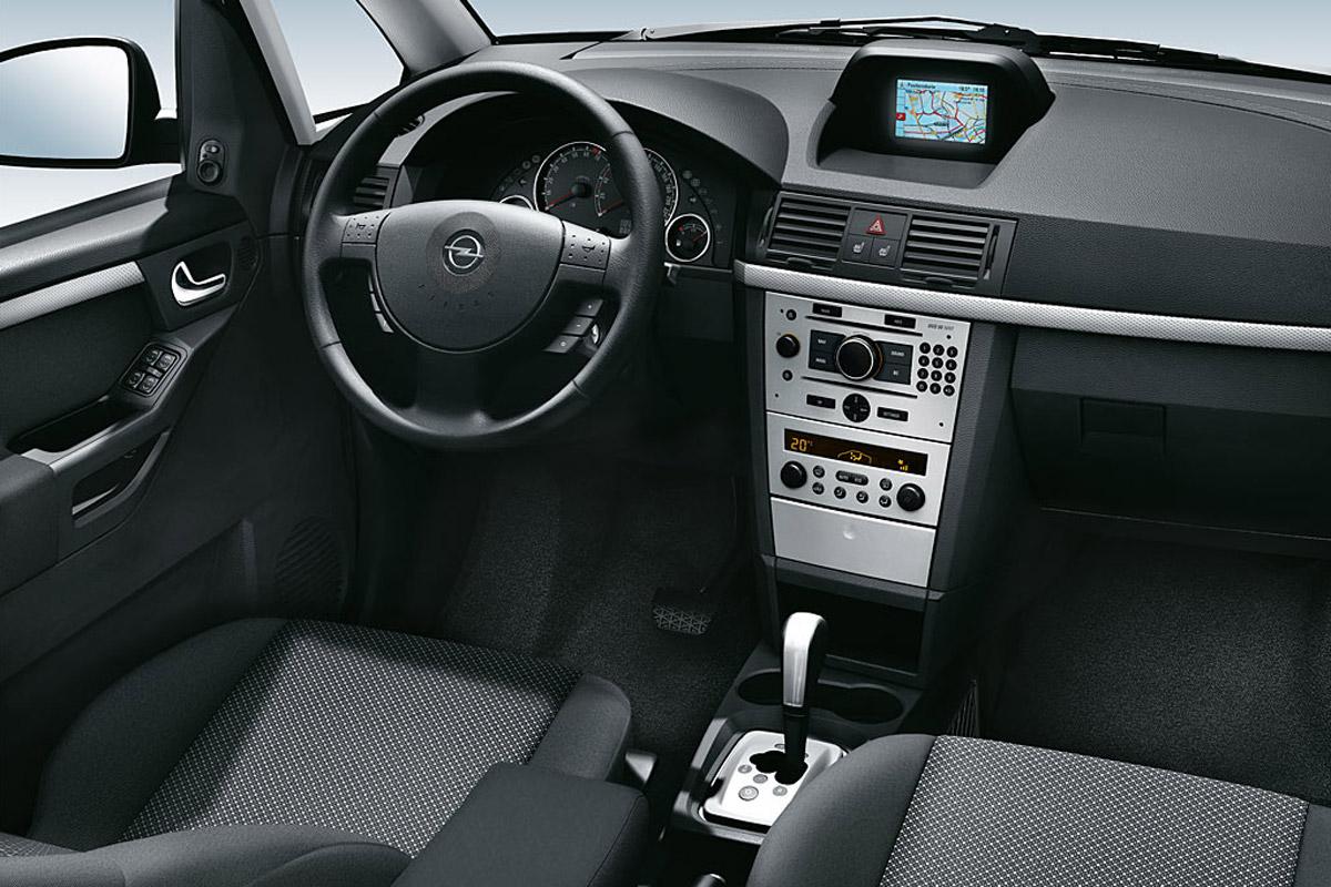 Opel Meriva 2006 salpicadero