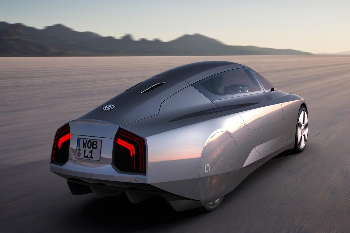 Volkswagen L1 Concept trasera