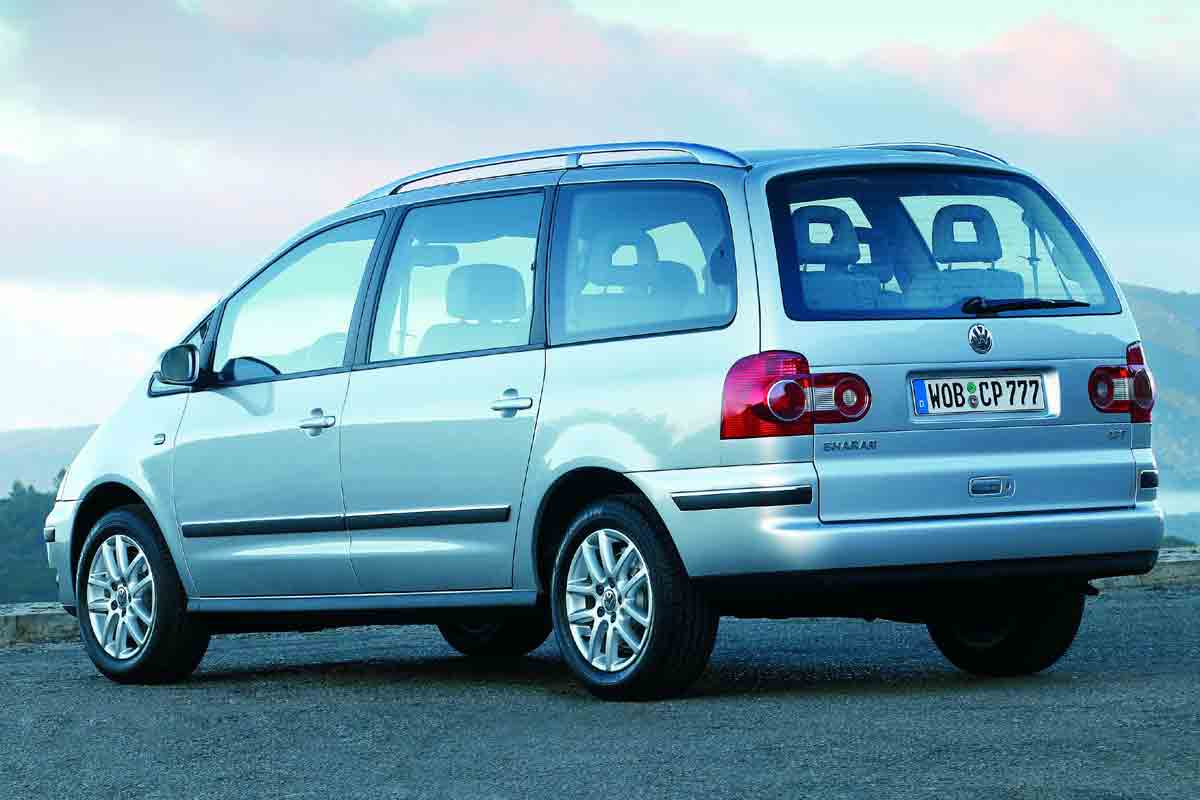 Volkswagen Sharan Un Monovolumen Familiar