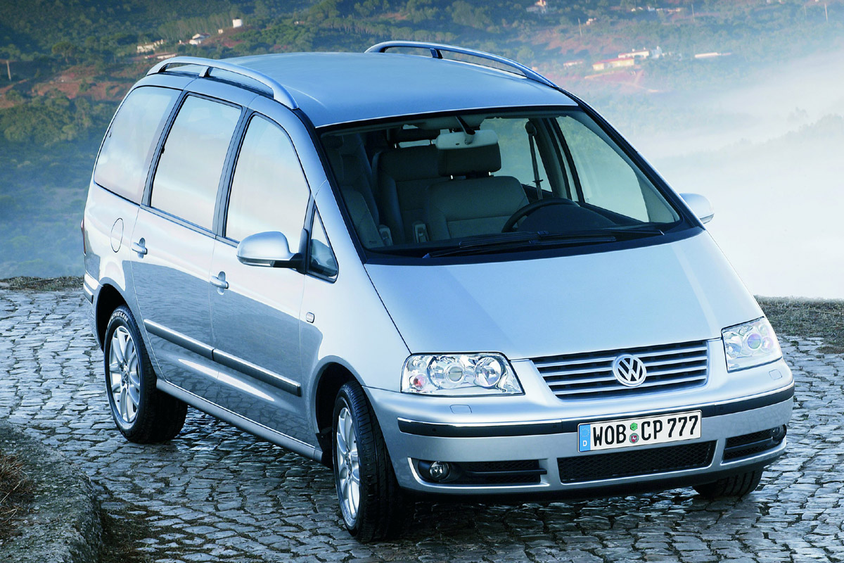 Volkswagen Sharan lateral