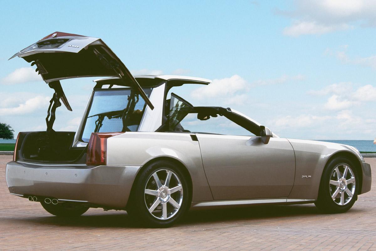 Cadillac XLR capota