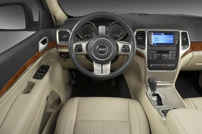 Jeep Grand Cherokee puesto de conducción