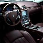 Maserati GranTurismo S vista del puesto de conducción