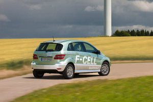 Mercedes-Benz Clase B F-CELL trasera