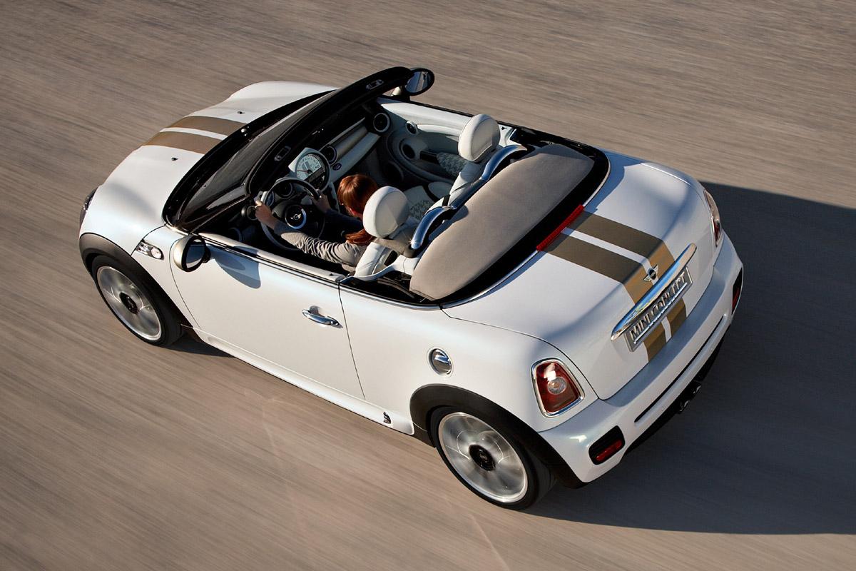 MINI Roadster Concept cenital