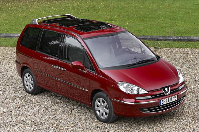 Peugeot 807 estático