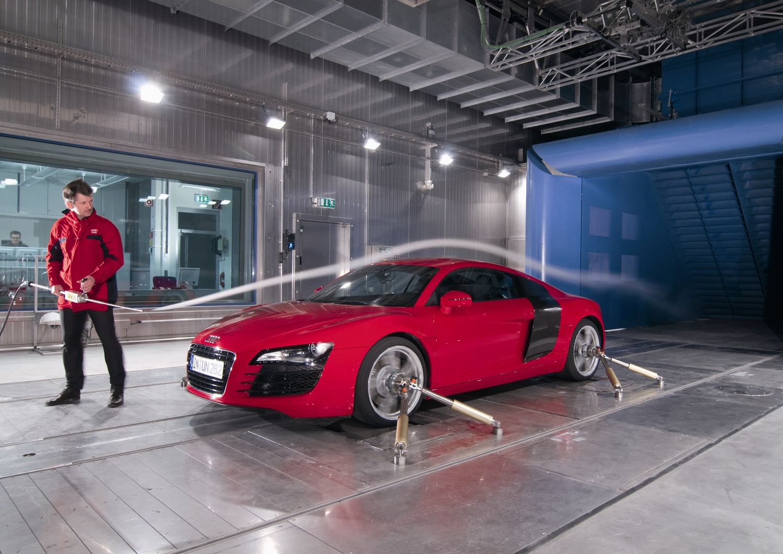 Toyota El Centro >> Túnel del viento de Audi para deportistas