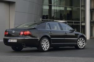 Volkswagen Phaeton trasera estática