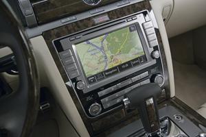 Volkswagen Phaeton navegador