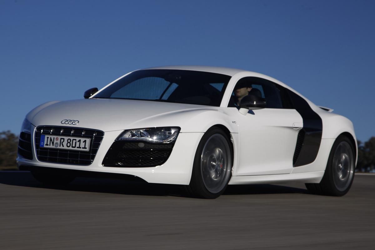 Audi R8 acción