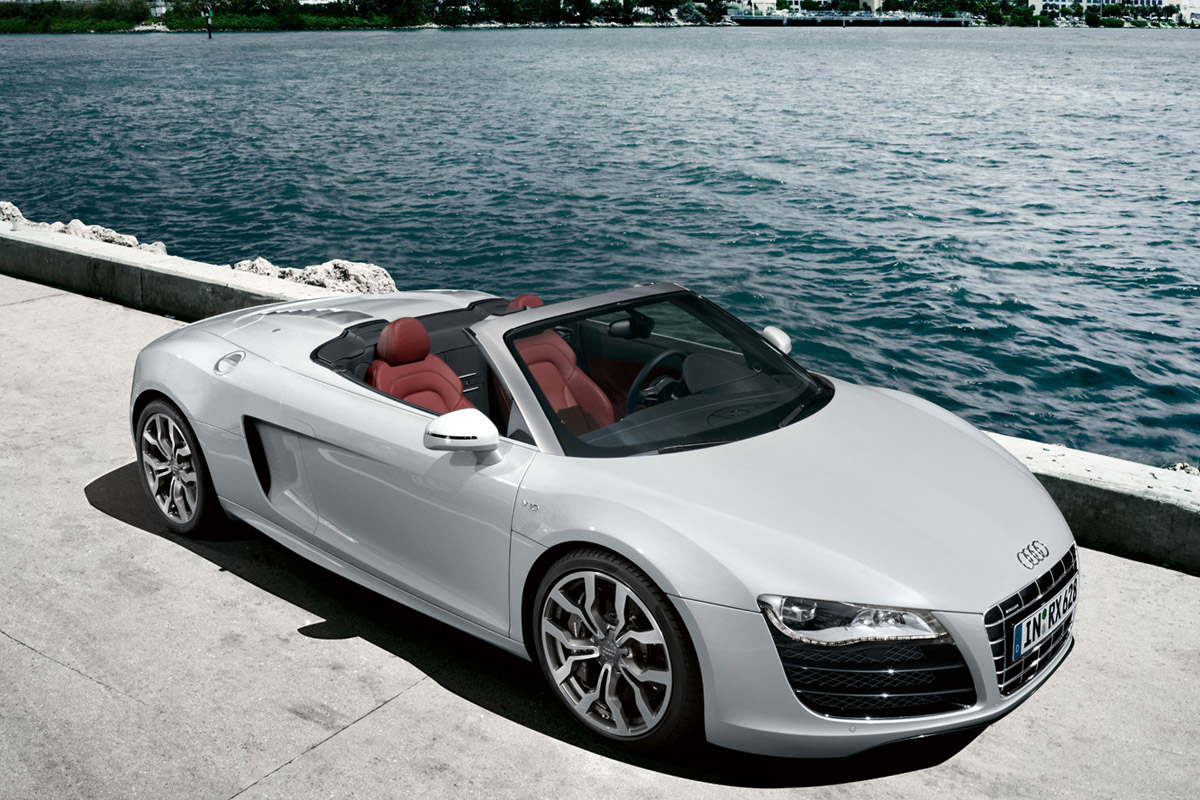 audi r8 spyder potente y f cil de conducir. Black Bedroom Furniture Sets. Home Design Ideas
