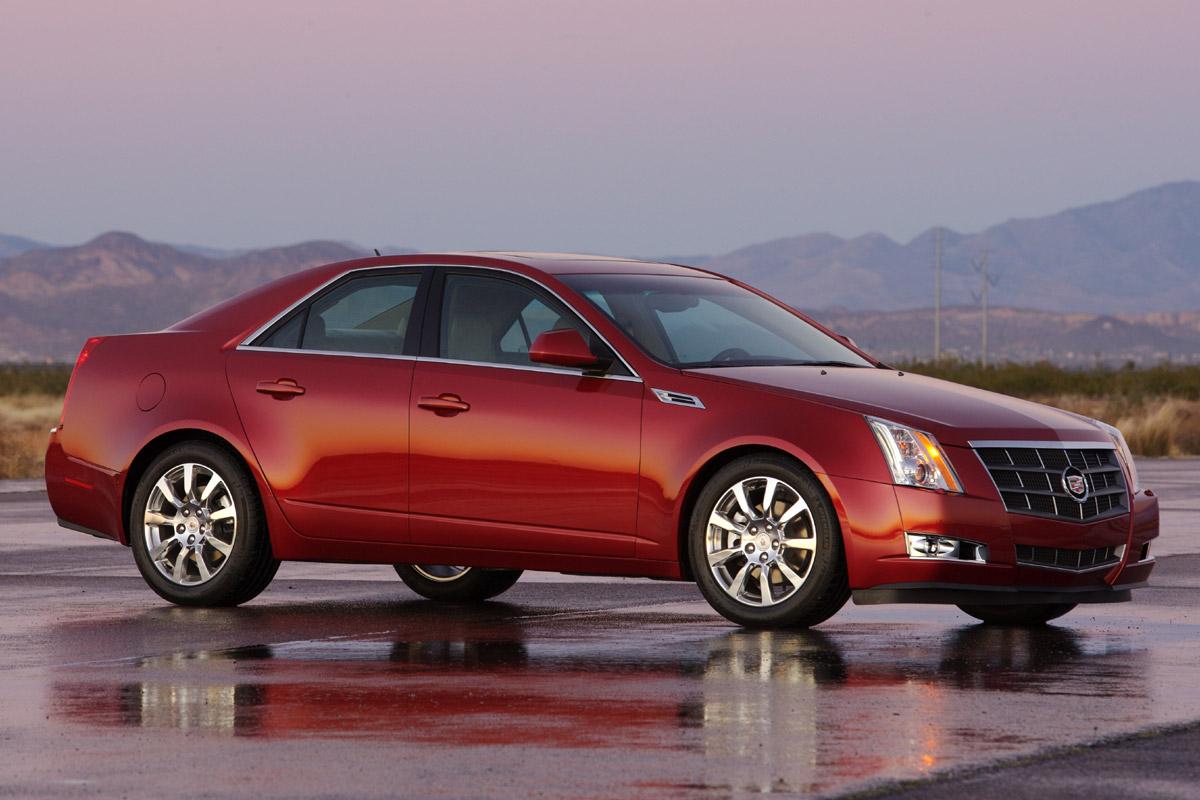 Cadillac CTS estático