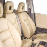Honda FR-V 2007 vista de los asientos