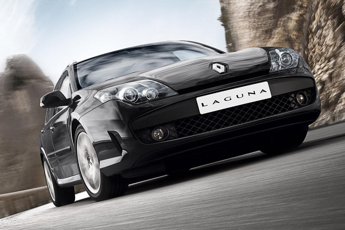 Renault Laguna GT 4Control acción