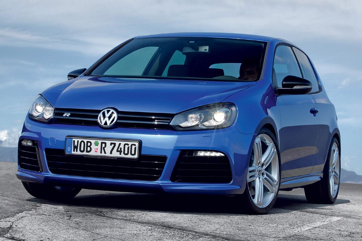 Volkswagen Golf R estático