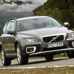 Volvo XC70 vista frontal