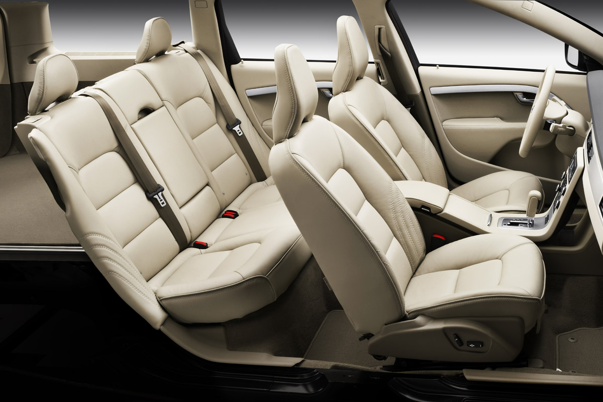 Volvo XC70 vista de los asientos