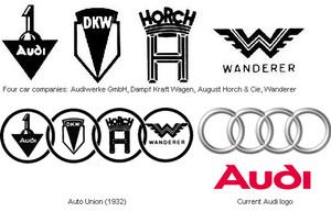 Audi logos