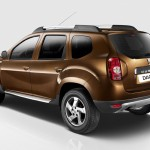 Dacia Duster 2010 vista trasera